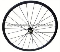 High quality 700c road bicyle for clincher or tubular carbon wheelset white carbon road bike wheels