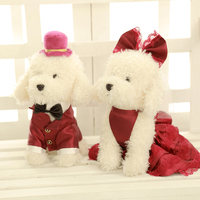 Cute plush teddy bear puppies teddy dog