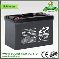 high performance deep cycle 12v 100ah lead acid battery for ups