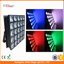 5x5 Led Matrix 25x30w Rgb Led Dmx Blinder For Background on stage light