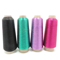 "Jingxin MS type 1/100"" multi color embroidery yarn thread black"