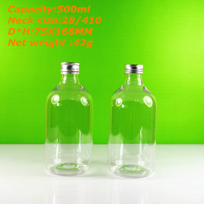 16 oz plastic juice bottle