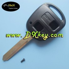 toyota car key remote key 2 buttons TOY47 Key shell with logo