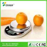 5kg stainless steel portable slim diet fruit and vegetable food electronic kitchen scale