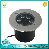 Stainless steel ip 68 outdoor waterproof led underground light 1w