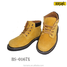 Hot Sale New Plus Size Man Work Boot Casual Lace Up Safety Shoe Platform Cotton Fabric Lining and Rubber Outsole Material