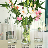 Clear vase tall Acrylic vase for wedding Plastic vase