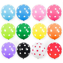 Manufacturers free samples polka dot flying custom latex balloon with logo