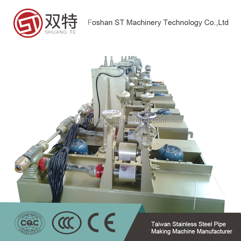 Stainless Steel Square/Rectangle/Flat Pipe Polishing Machine/Tube Grinder