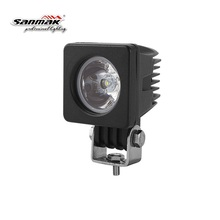 waterproof led lights 12V 4x4 ATV UTV moto 10W high power led working lamp