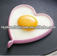 KT-001 silicon kitchenware heart shape fried egg forms