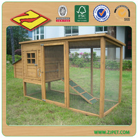 DXH011 wooden chicken coop for 3 to 8 hens/rectangle chicken house/wooden pet house