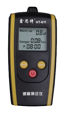CE proved HT-611 Digital breath Alcohol analyser for policeman