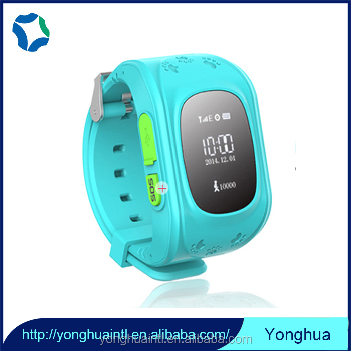 Real time position new arrival kids gps tracker smart watch