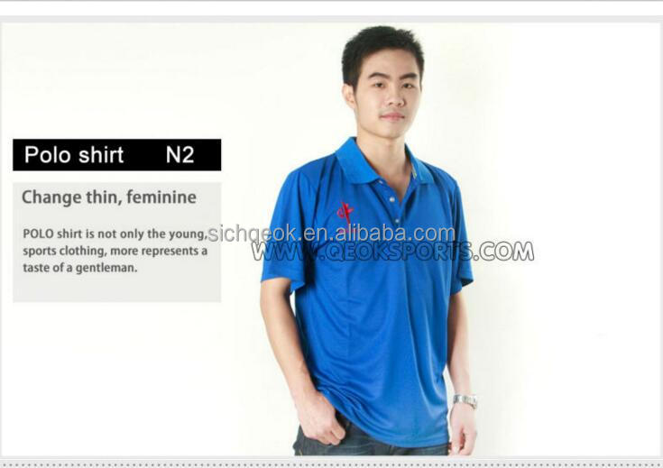 Newest design mercerized polo shirt