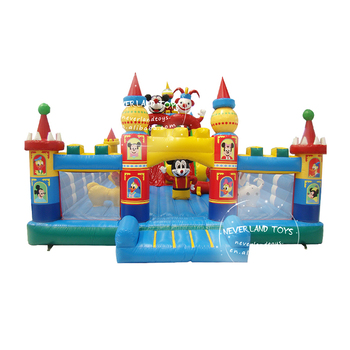 Outdoor new design inflatable bouncer jumping bouncy castle