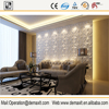 2016 new design wall decor stylish modern cheap decorative 3d faux leather decorative wall covering panels