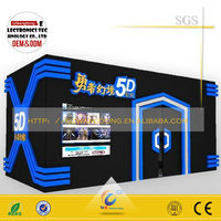 Wangdong Exhibition Mobile 5D 7D cinema on truck/amusement park games factory/5d Theater Rider