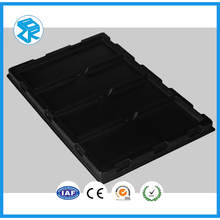 China Product Manufacturer Black Plastic Packing Tray Blister Tray