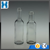 MINI 100ML 50ML SPARKLING WINE GLASS BOTTLE WITH CORK