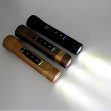 Portable Stereo Musical Torch LED Light