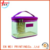 best quality promotional colourful transparent pvc cosmetic bag