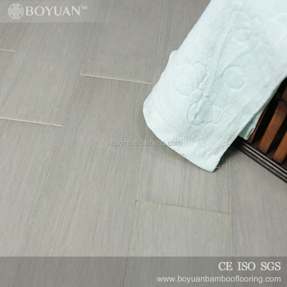 BY wood look Matte gloss white wash bamboo flooring