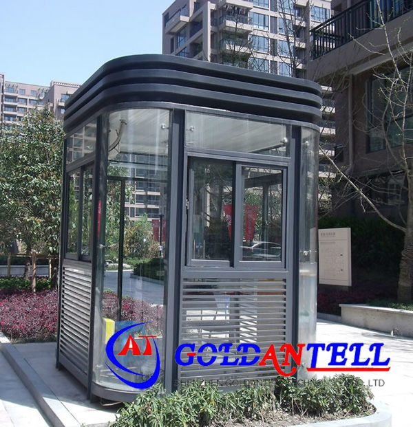 Security house movable sentry new design ticket booth low cost small size mobile sentry box