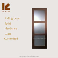 2014 newest European design wardrobe closet glass sliding door