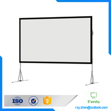 Projector Screen Rental Boston Fast Fold Deluxe Screen System Fast Fold Screen With Dress Kit