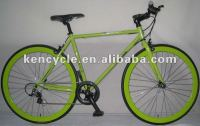 700C adult bike/bicicleta/aluminum/cr-mo/ FIX GEAR 8SPEED CROSS TRACKING RACING BIKE SY-RB70037