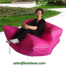 great quality pink extra long sofa fabric bean bag chairs wholesale,indoor bean bag - two seated sofa
