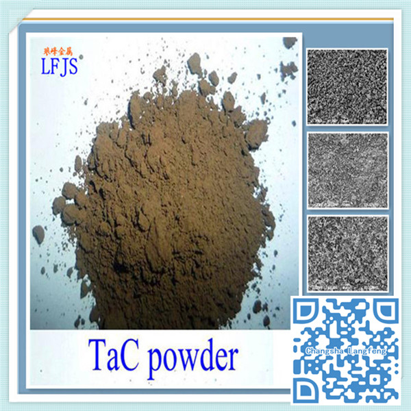 metallic electrical conductivity tantalum carbide raw material is graphite & tantalum oxide