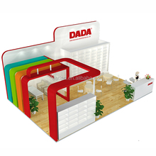 Detian Offer large size wooden trade show stall for rental in Shanghai