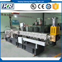 Two Stage Twin Screw PVC Filler Master Batch Production Line/Corn Starch Granule Extruder Pelletizing Line