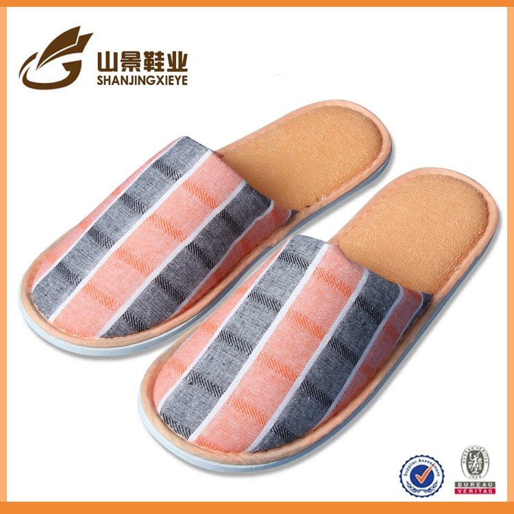 competitive price travel guest disposable hotel slippers
