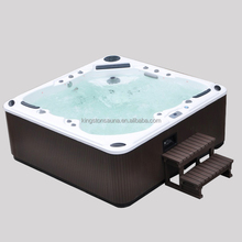 Two lounge bath tubs JCS-19 with 133 safety outdoor spa