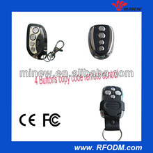 Metal cover style with keyfob waterproof wireless copy code remote controller
