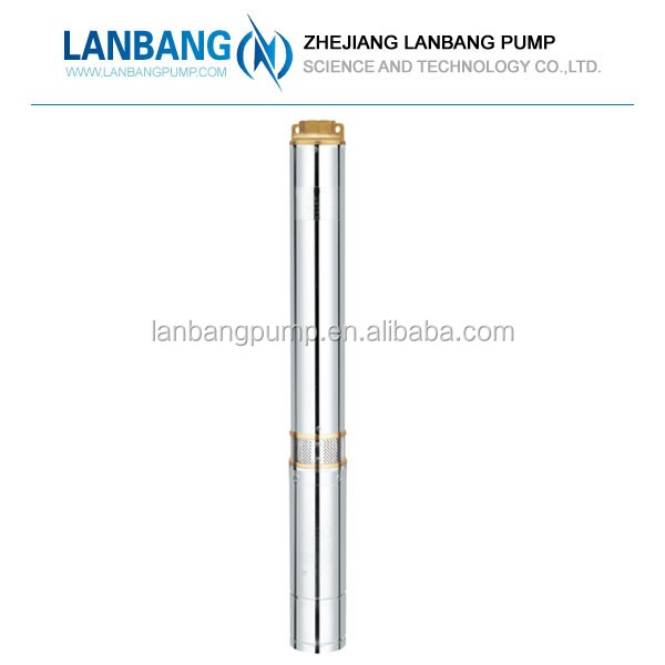 "10"" Deep Well Submersible Pumps South Africa Stainless Steel 2"" Oem Design SPA3-20 1hp electric water pump motor price in india"