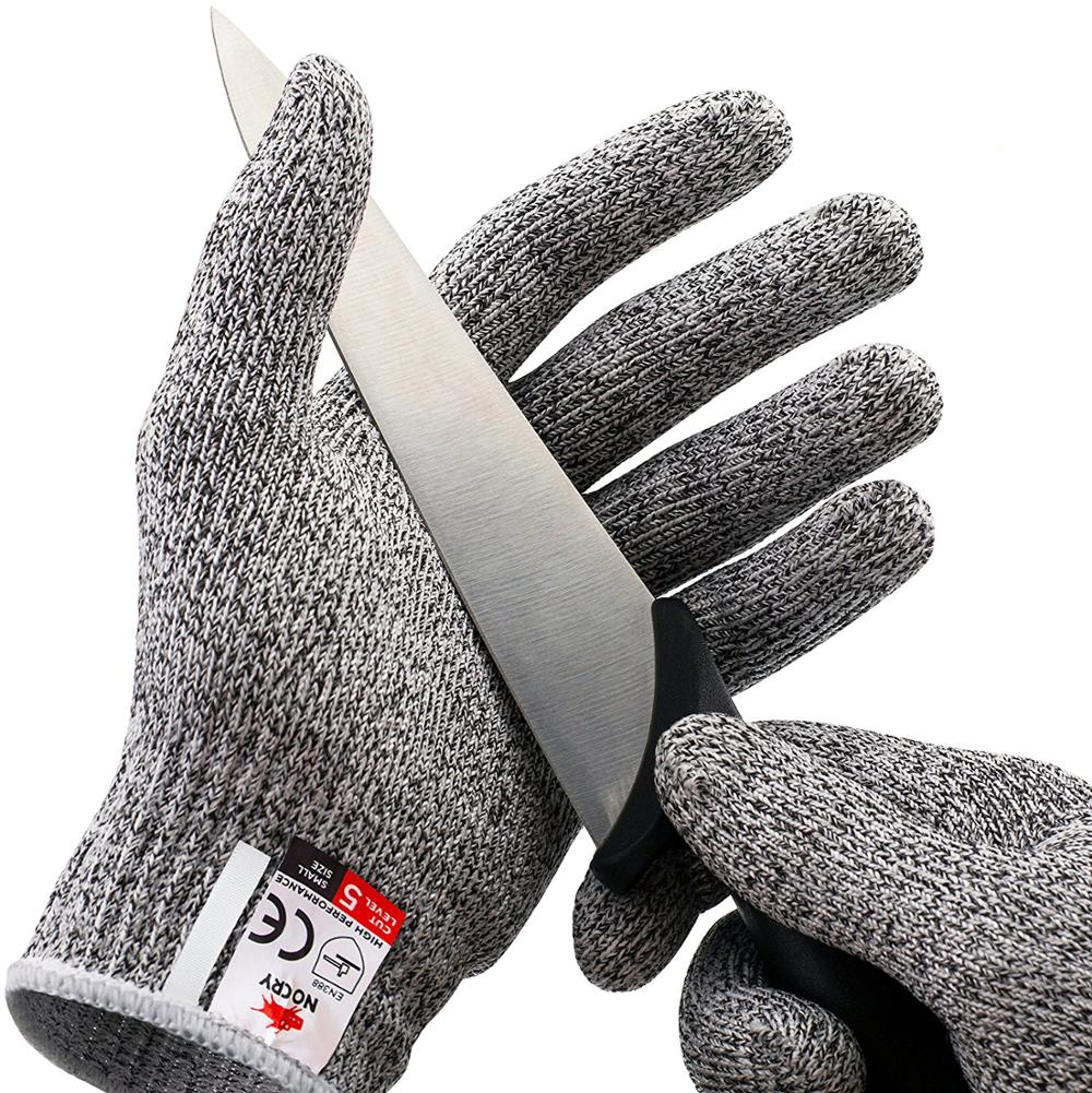 ZM Cut Resistant Gloves With Level 5 Hand Protection Food Grade <strong>Safety</strong> Cutting Gloves