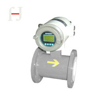 DN200 flange connection magnetic flow meter