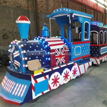 2018 CARNEE New Designed England Style Tourist Train Park Electric Train for sale