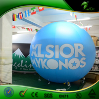 Inflatable LED Light Helium Balloon Giant Party Balloon Customized Design with LOGO printing