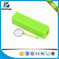 Top quality portable 2600mah perfume portable power bank charger for all cell phones