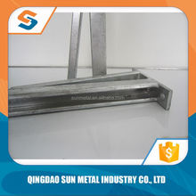 Golden Supplier c channel shape slotted steel unistrut channel