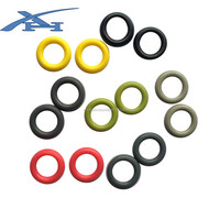 Plastic ring buckle O shaped plastic loops for camping tent strong and durable