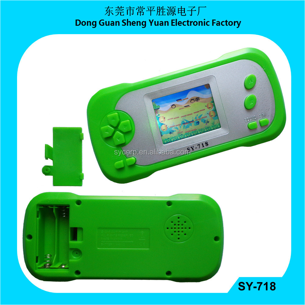 wholesale video game console SY-718 with back light honey bear game