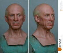 Pablo Picasso Life Size Statue Spanish Artist Waxwork