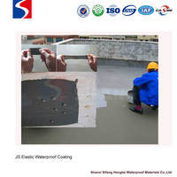 cold construction good flexibility Cement(JS) Waterproof Coating polymer modified cement for basement bridge