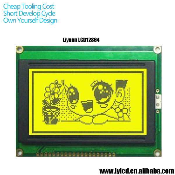 128*32 DOTS lcd display for Lcd factory hot sales